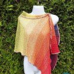Schal mit Netzmuster häkeln